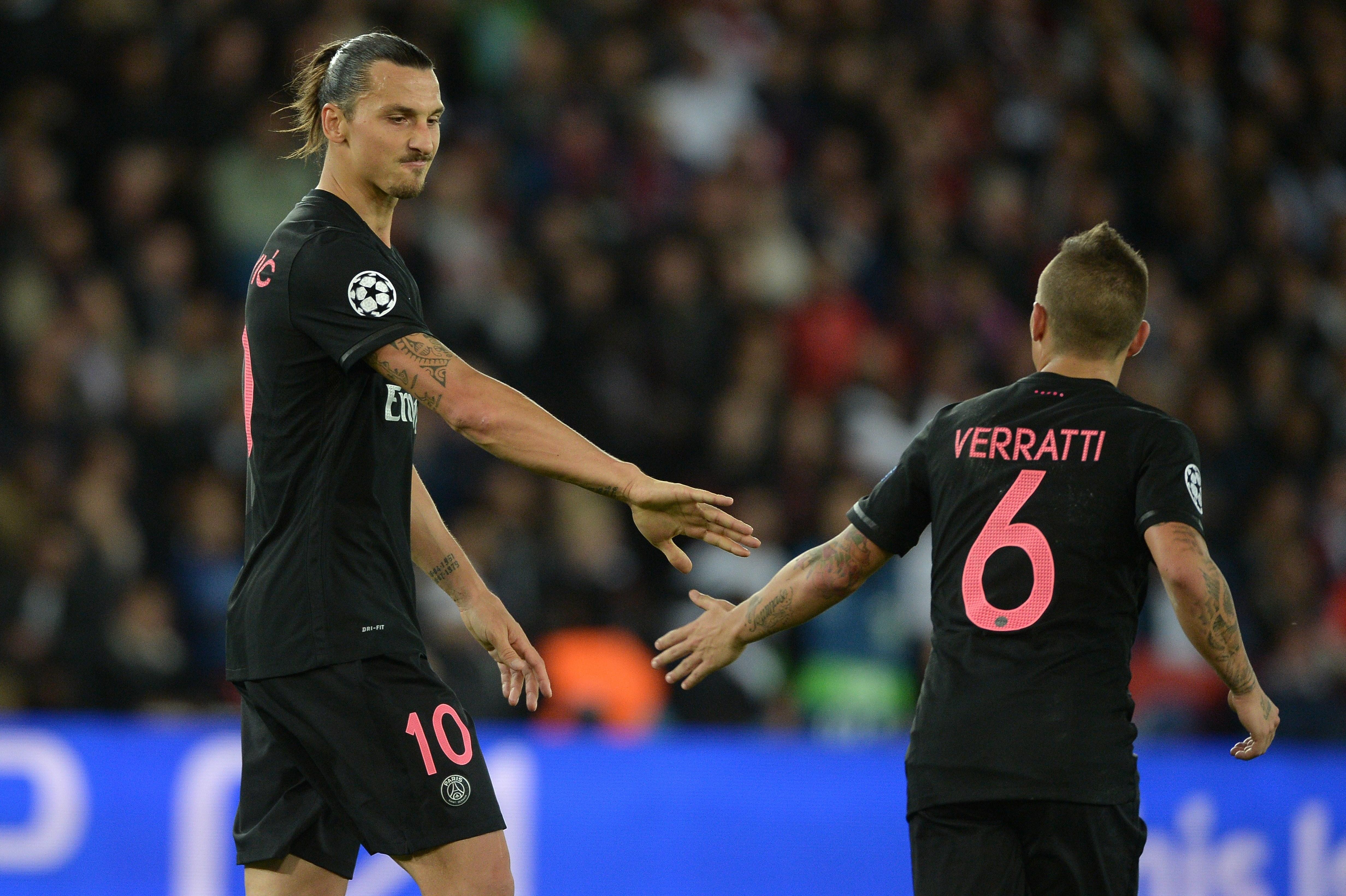 Verratti Ibrahimovic