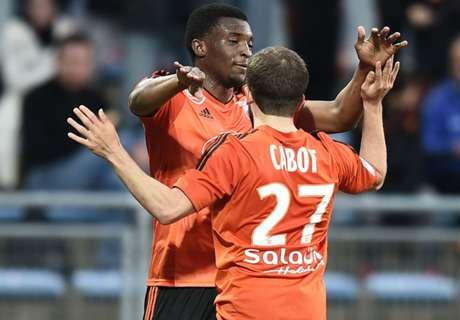 Lorient-Gazélec 1-0, résumé de match
