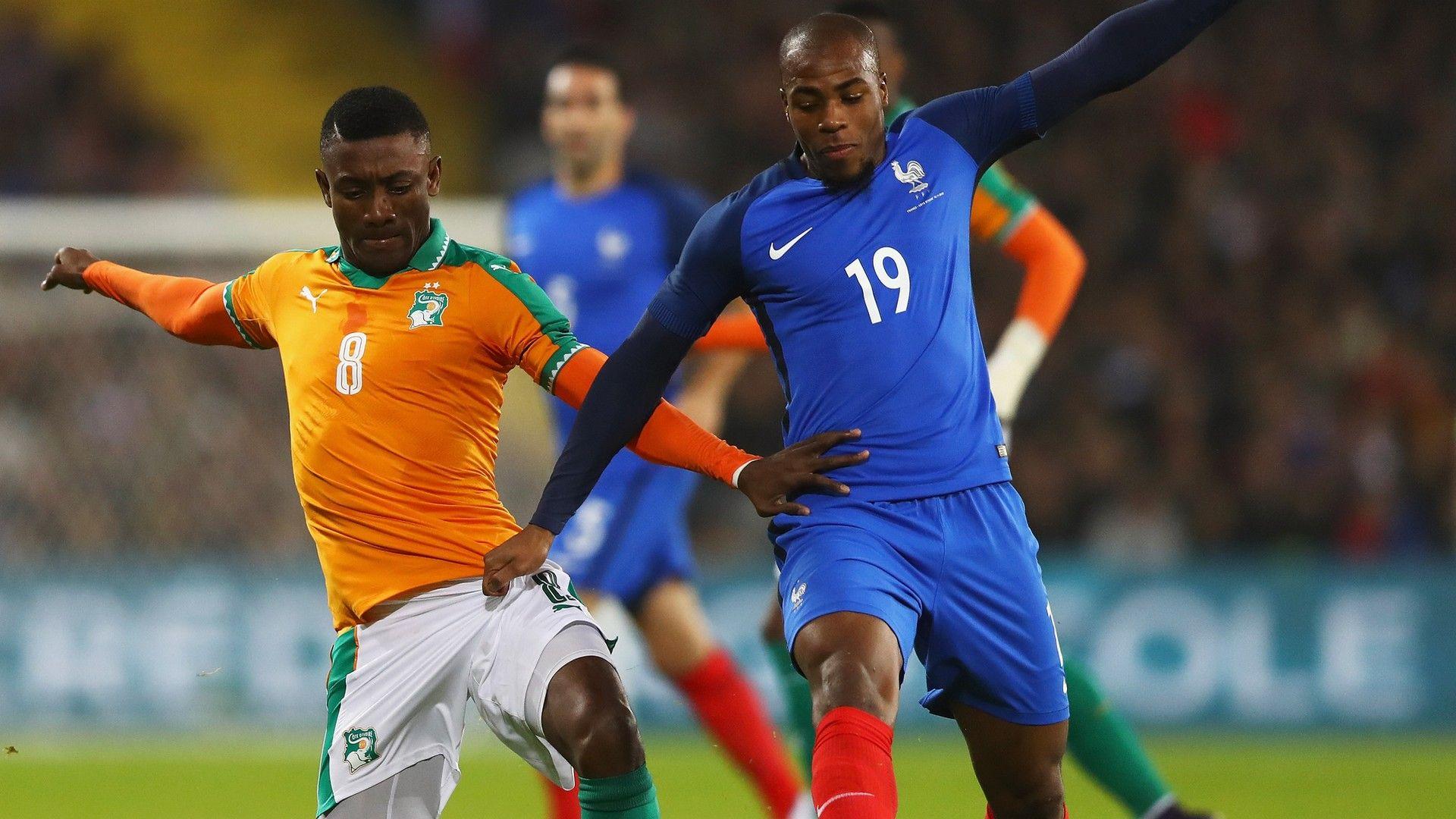 France Ivory Coast Djibril Sidibe Salomon Kalou Friendly 15112016
