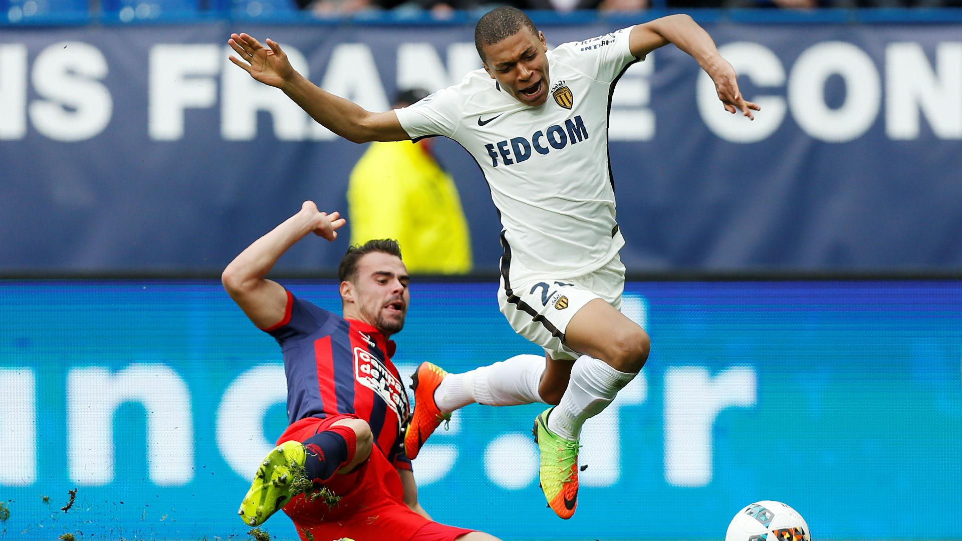 Monaco garde le rythme face à Caen