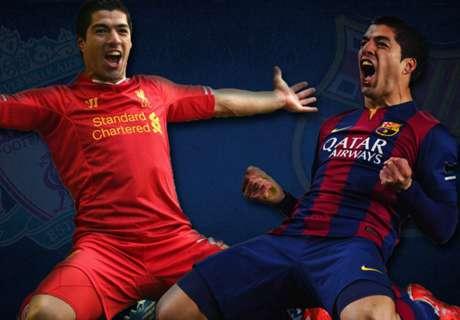 Suarez, des Reds au Barça