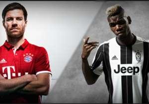 Manchester United, PSG, Bayern Munich, Juventus...Goal merangkum jersey kandang-tandang yang telah dirilis oleh klub raksasa Eropa untuk musim 2016/17.