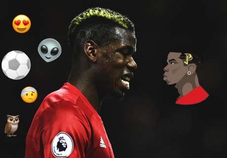 Les footballeurs en emojis