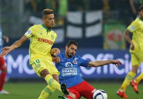 Nantes perd contre Francfort