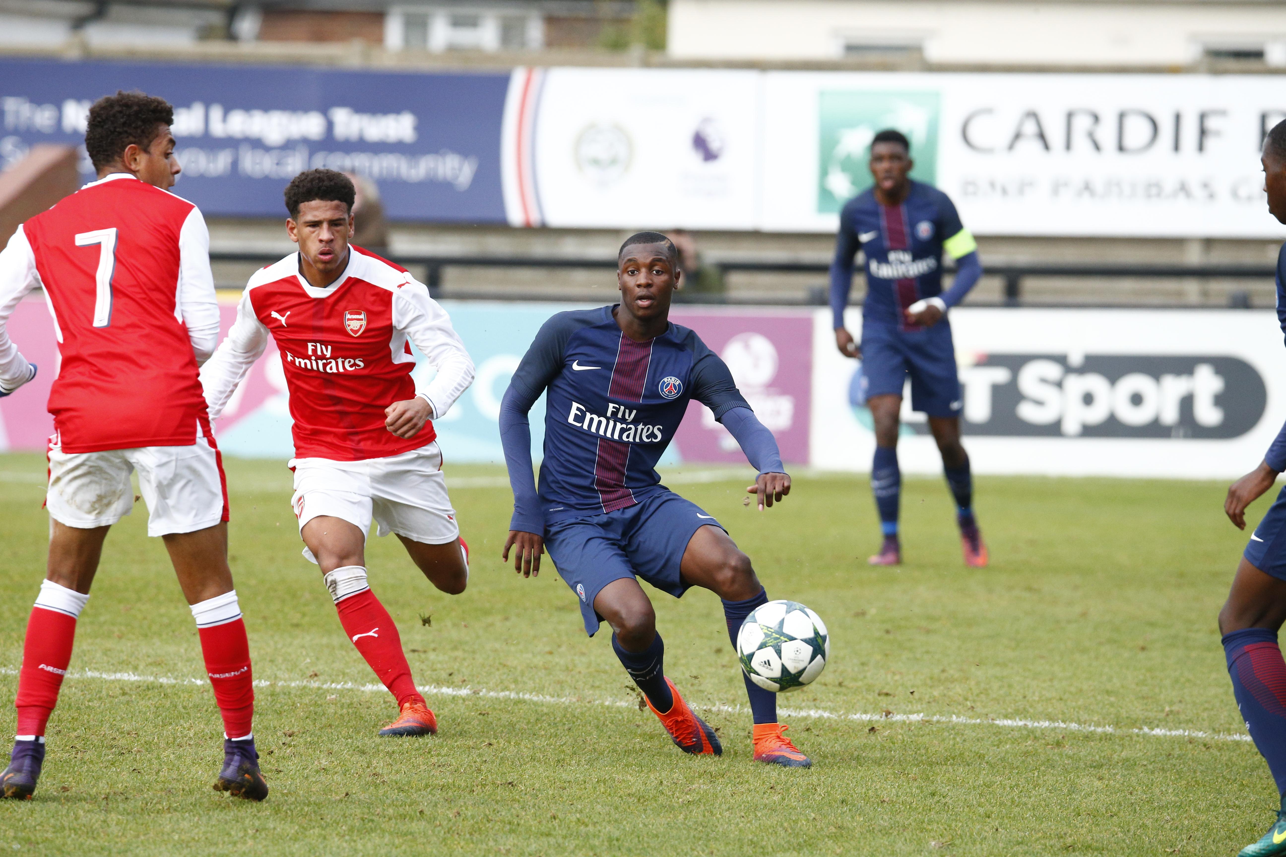Youth League : le PSG partage les points avec Arsenal