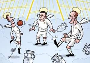 Les légendes du Real Madrid se retrouvent au paradis pour faire rêver les anges. RIP Raymond Kopa.