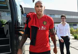 Thierry Henry Belgium training 29082016