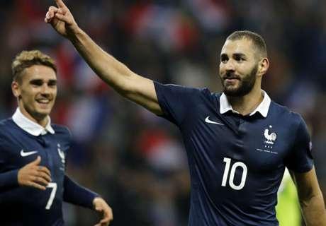 Amistoso: França 4 x 0 Armênia