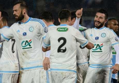 Marseille Tembus Perempat-Final CDF