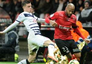 Jimmy Briand Frederic Guilbert Guingamp Bordeaux Ligue 1 13022016