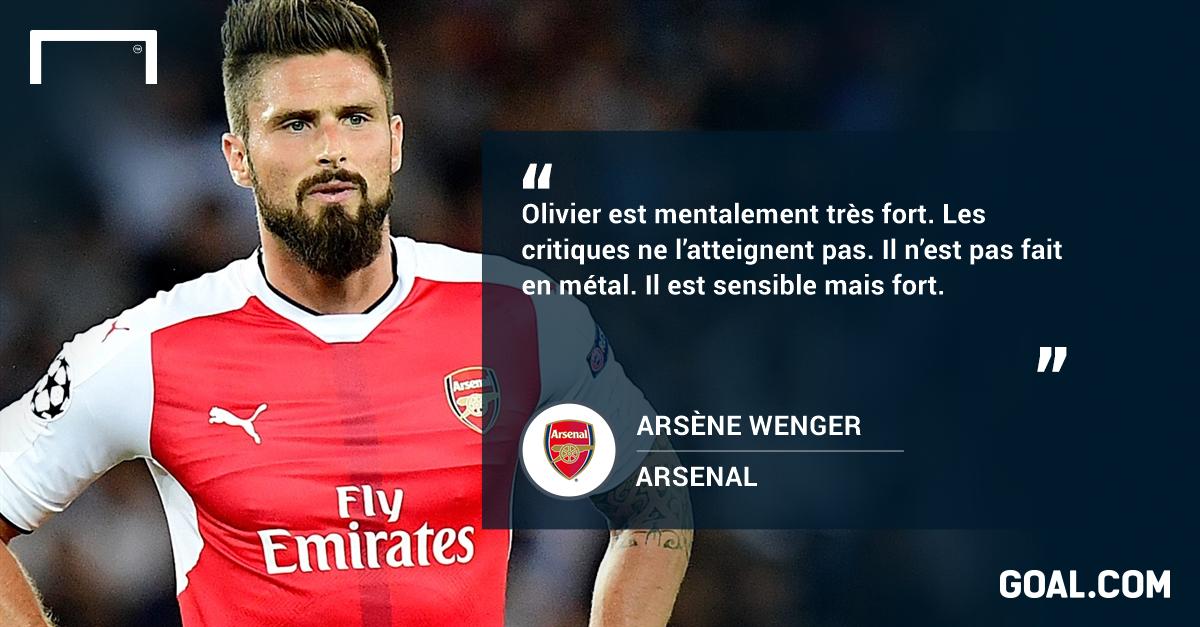 Giroud soigne son retour avec Arsenal — Premier League