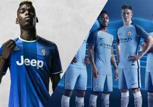 Le PSG a dévoilé son nouveau maillot extérieur. Du club de la capitale au Real, en passant par la Juve ou Chelsea, Goal présente les nouveaux équipements des plus grands clubs pour la saison 2016-2017.