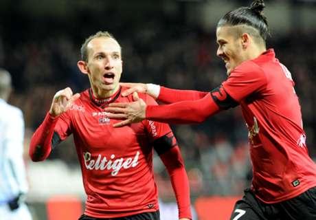 Guingamp - Troyes 4-0, résumé de match
