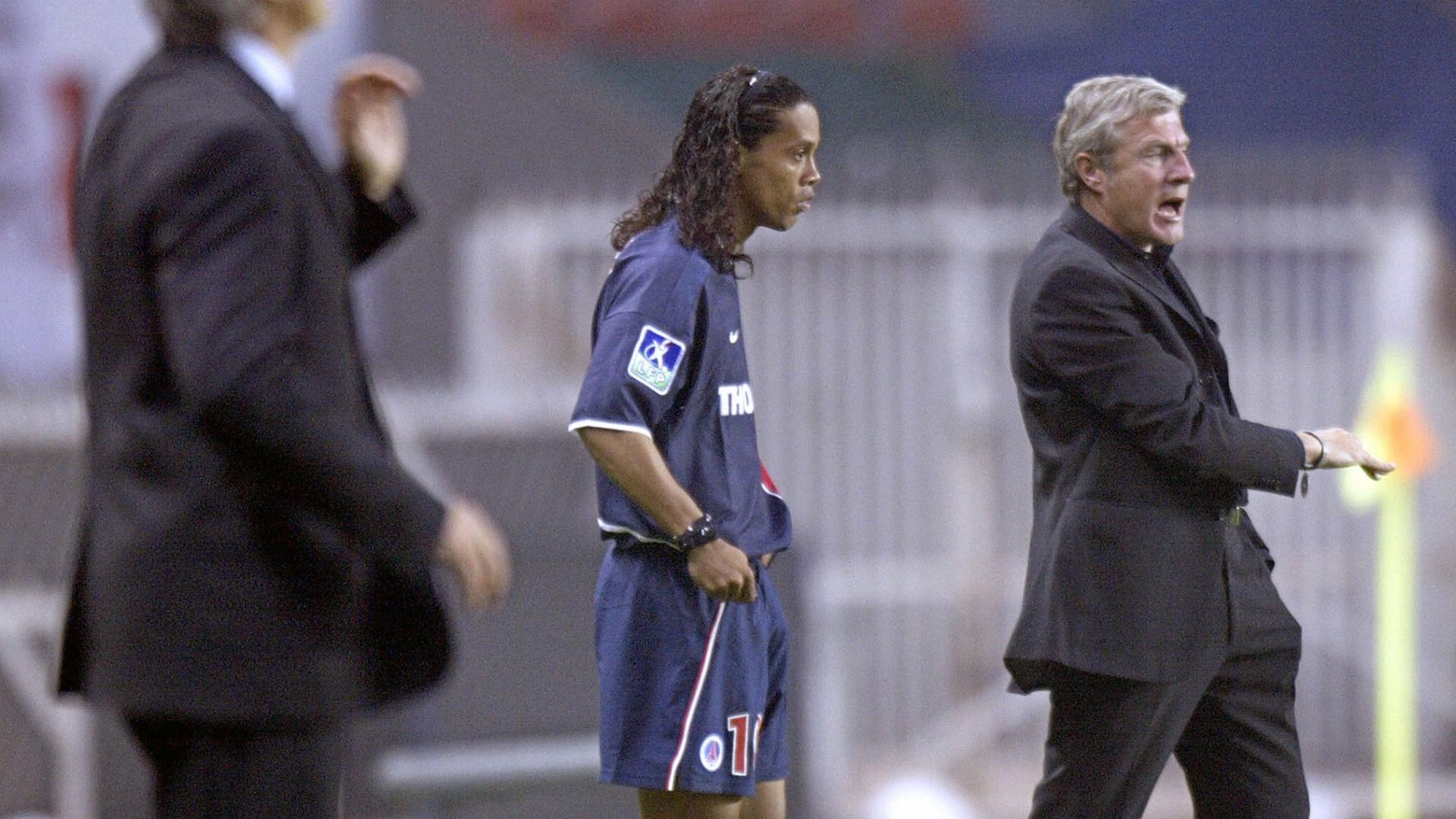 Ronaldinho PSG Rennes 20-05-2003