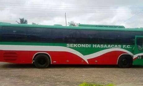 Hasaacas purchase a new team bus