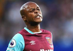 =7. Andre Ayew, West Ham United, 80