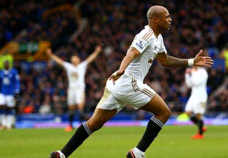 Ayew shortlisted for Swansea best