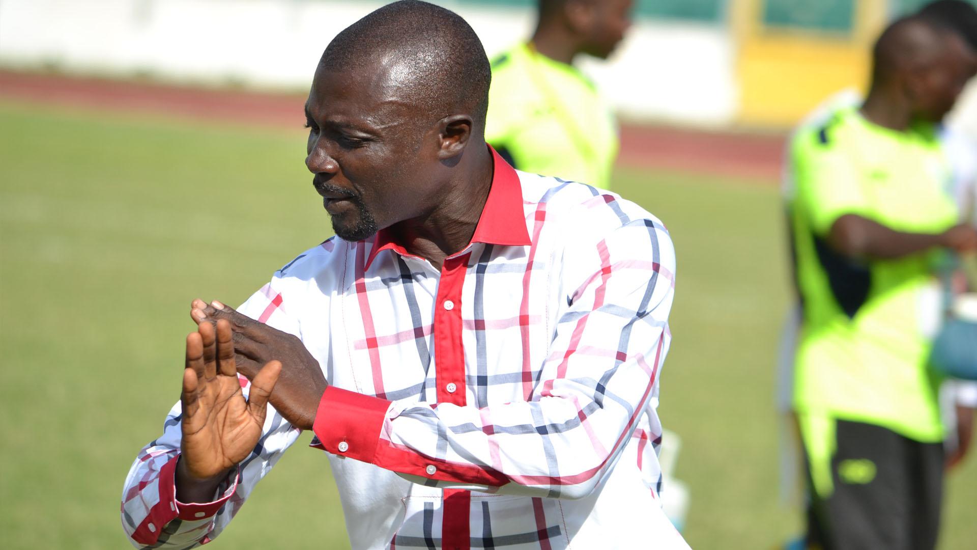 Wa All Stars coach Enos Adepa