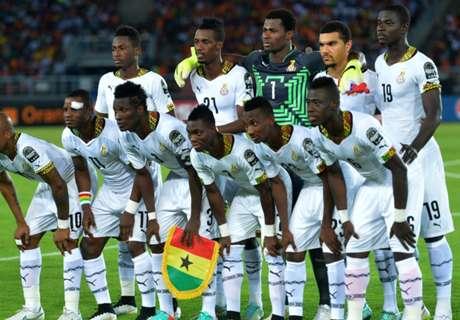 Ghana draw Egypt, Uganda for Afcon 2017