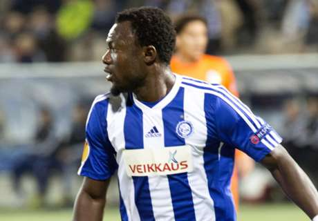Baah's HJK advance in Finnish Cup
