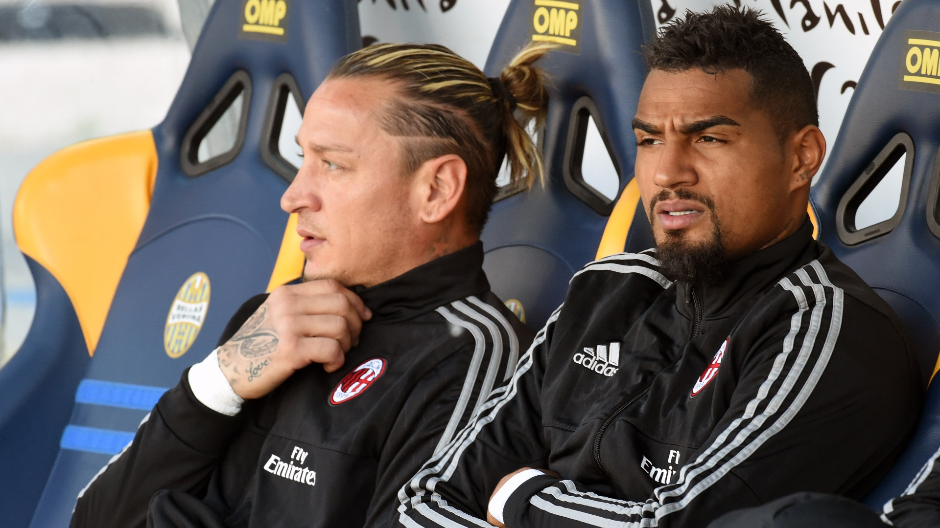 Kevin-Prince Boateng & Philippe Mexes