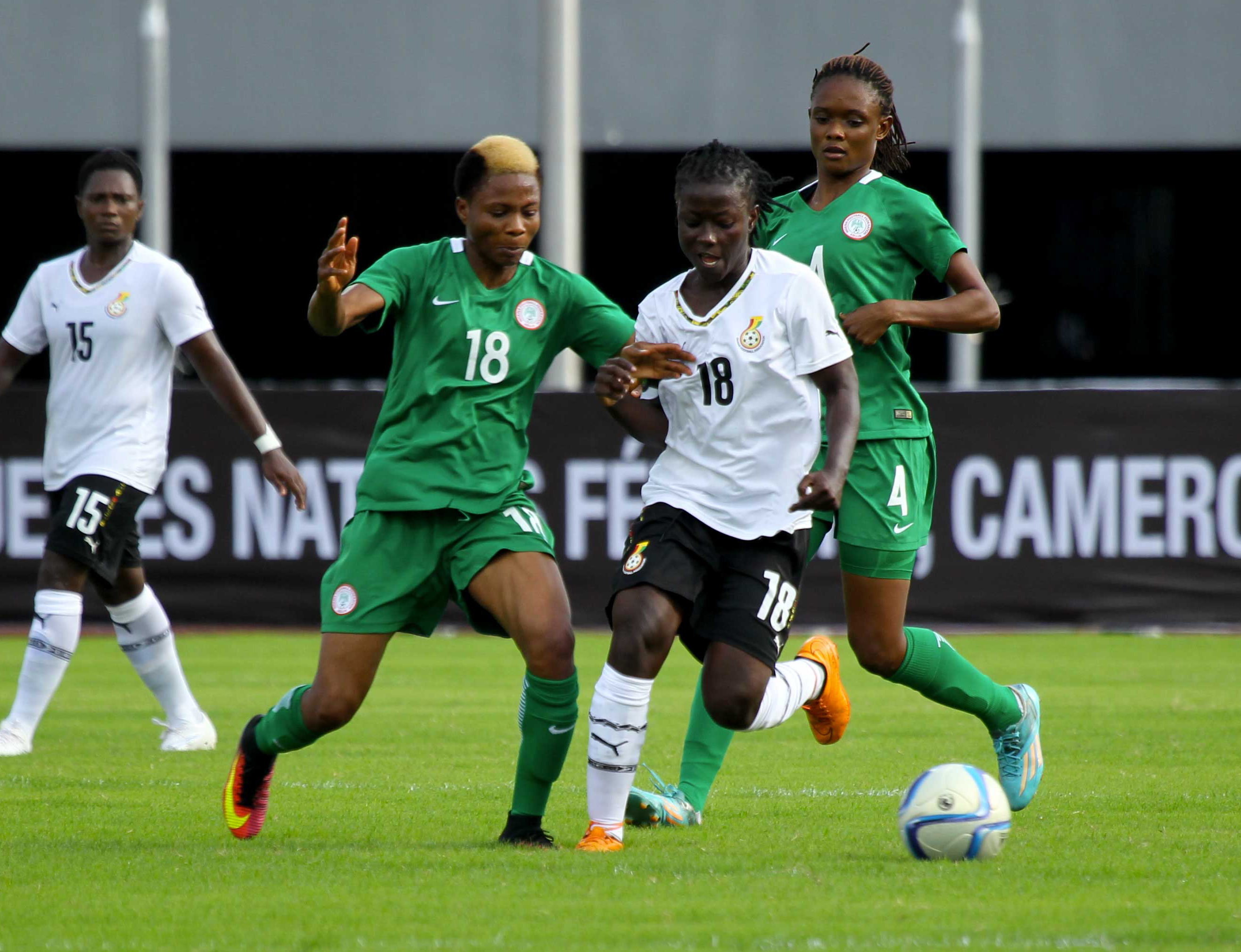 AWCON: Ghana grind out draw with Nigeria