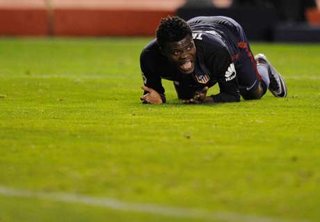 Partey suffers injury setback
