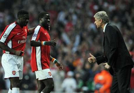 Wenger praises Arsenal's African alumni