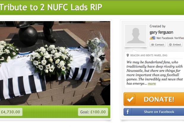 Vliegramp kost Newcastle-fans het leven