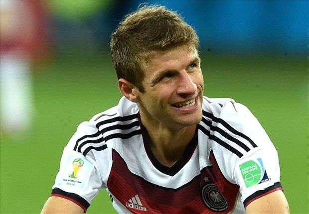 Deutschlands Thomas Müller