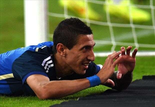 El Fideo marcó un gol y así lo festejó