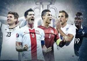 Por lesão ou por suspensão, alguns dos principais atletas do mundo não poderão defender suas seleções na Eurocopa de 2016. Veja quais serão as ausências mais sentidas pelos fãs de futebol