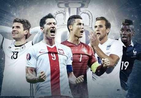 Eurocopa vai ter desfalques importantes