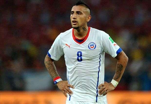 Arturo Vidal wurde Anfang Mai am Knie operiert - bei der WM spielte er dennoch
