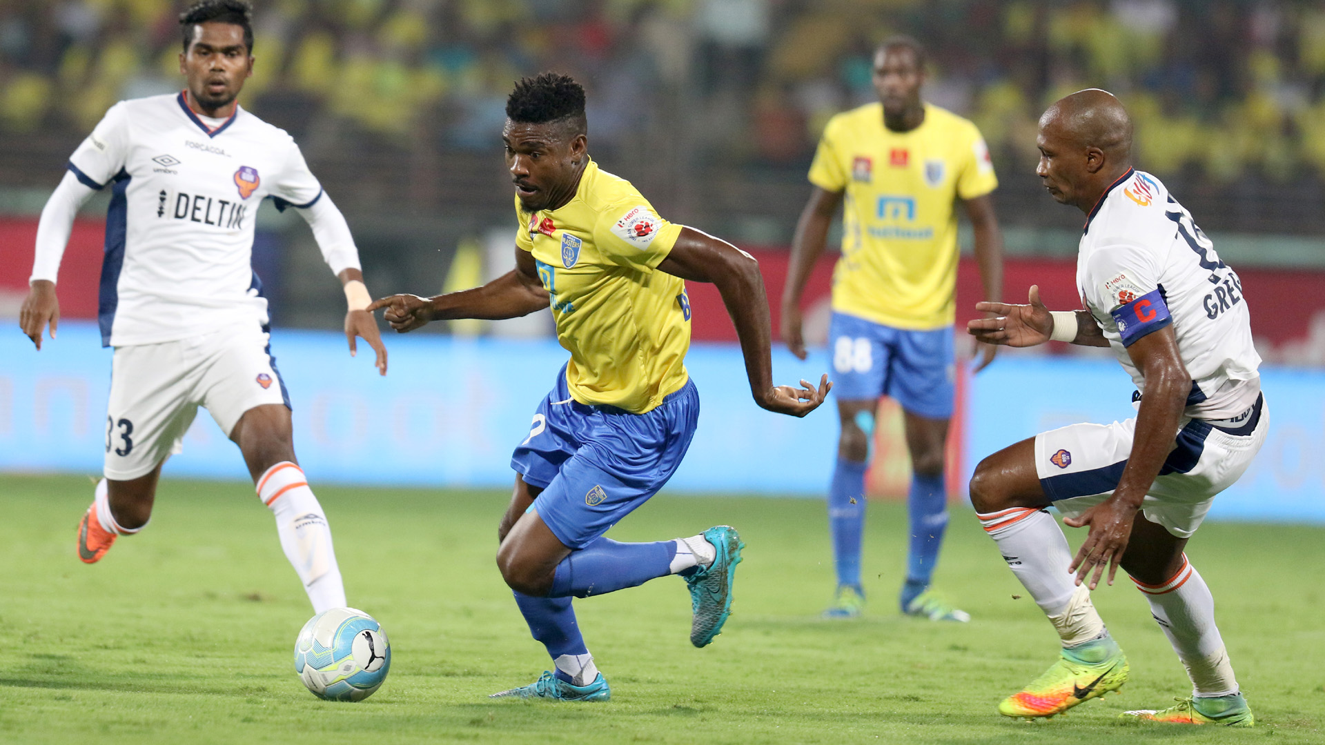 Kervens Belfort Kerala Blasters FC FC Goa ISL season 3 2016