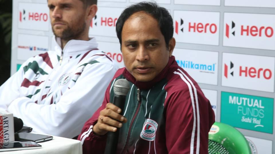 Sankarlal Chakraborty Mohun Bagan Minerva Punjab FC I-League 2017/2018