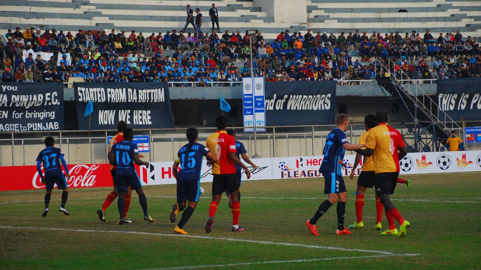 Minerva Punjab 0 - 5 East Bengal Match report - 29/01/17 I ...