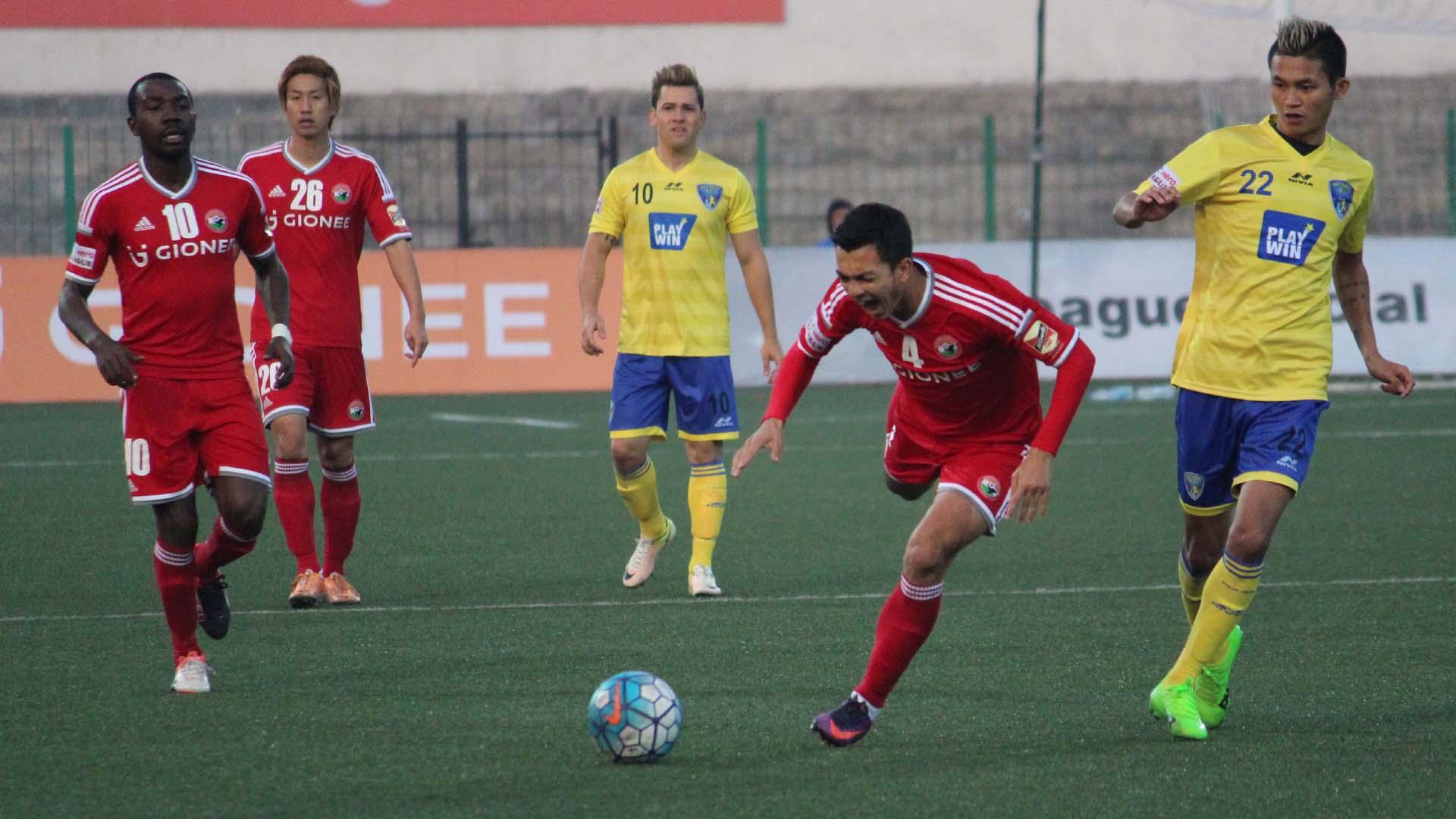 Shillong Lajong FC Mumbai FC I-League 2017