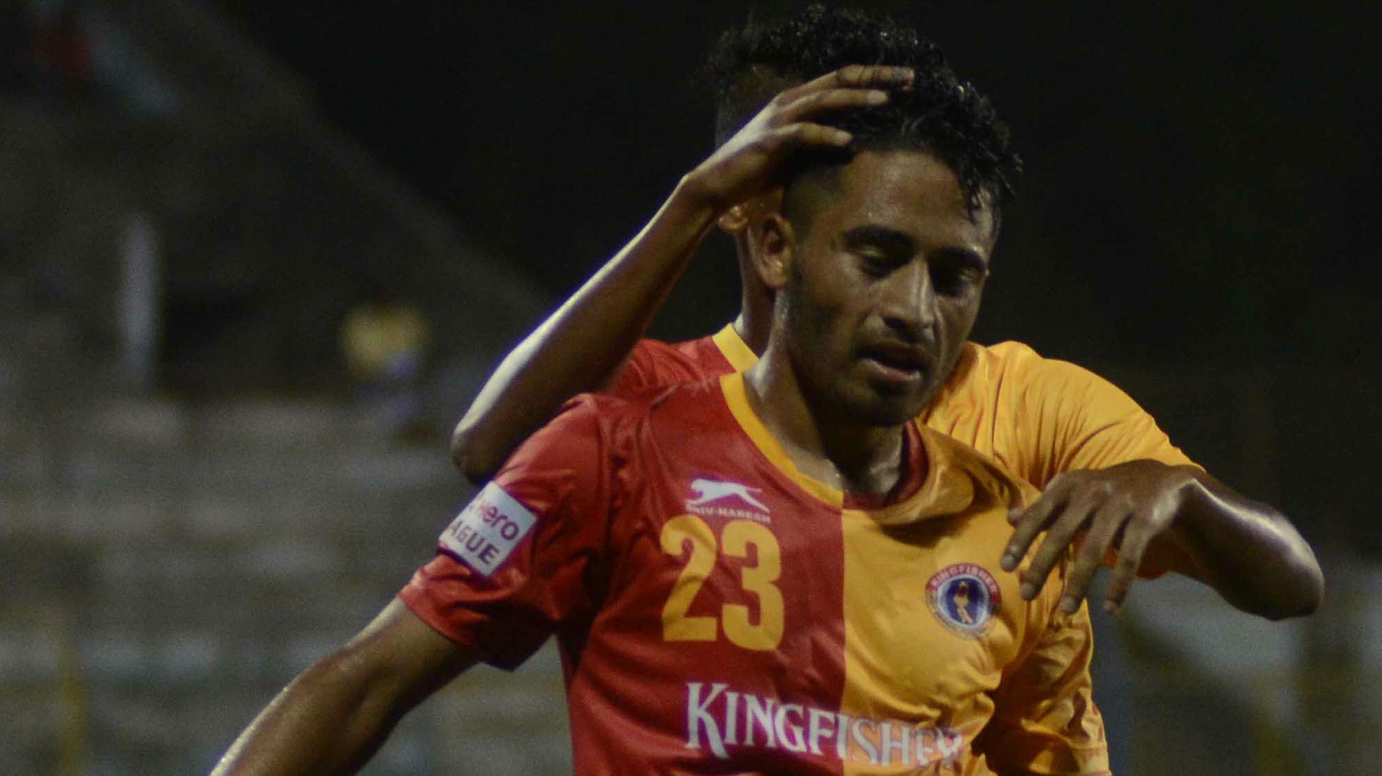 Bikash Jairu East Bengal FC Minerva Punjab FC I-League ...