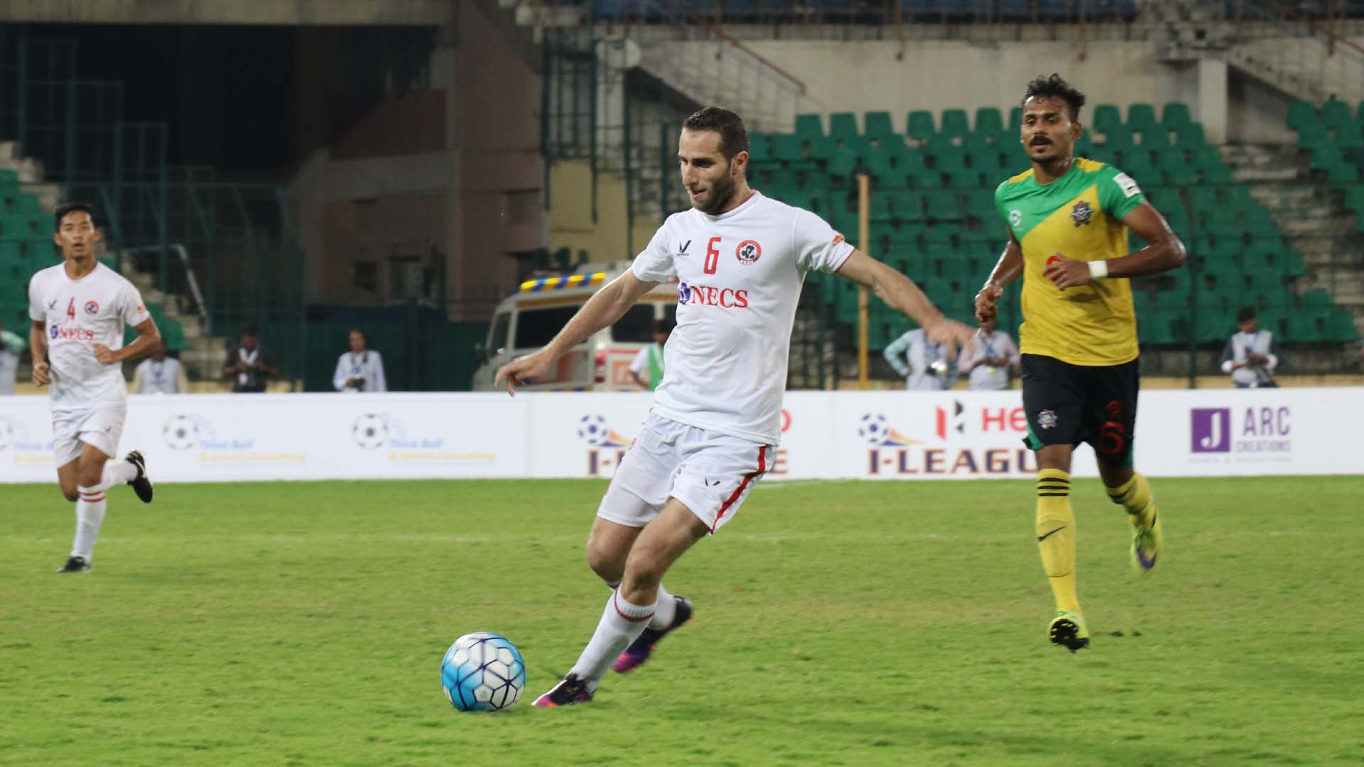 Mahmoud Al Amenah Chennai City FC Aizawl FC I-League 2017