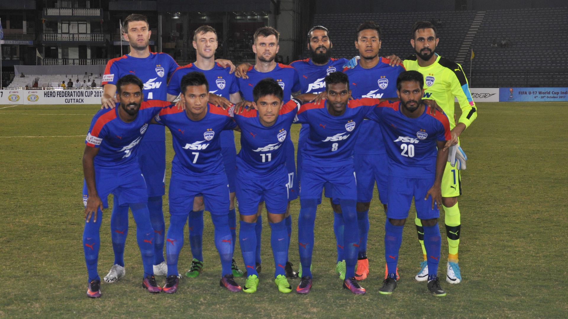 Bengaluru FC squad Federation Cup 2017