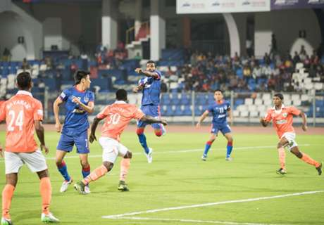 REPORT: Bengaluru 1-2 Sporting Goa