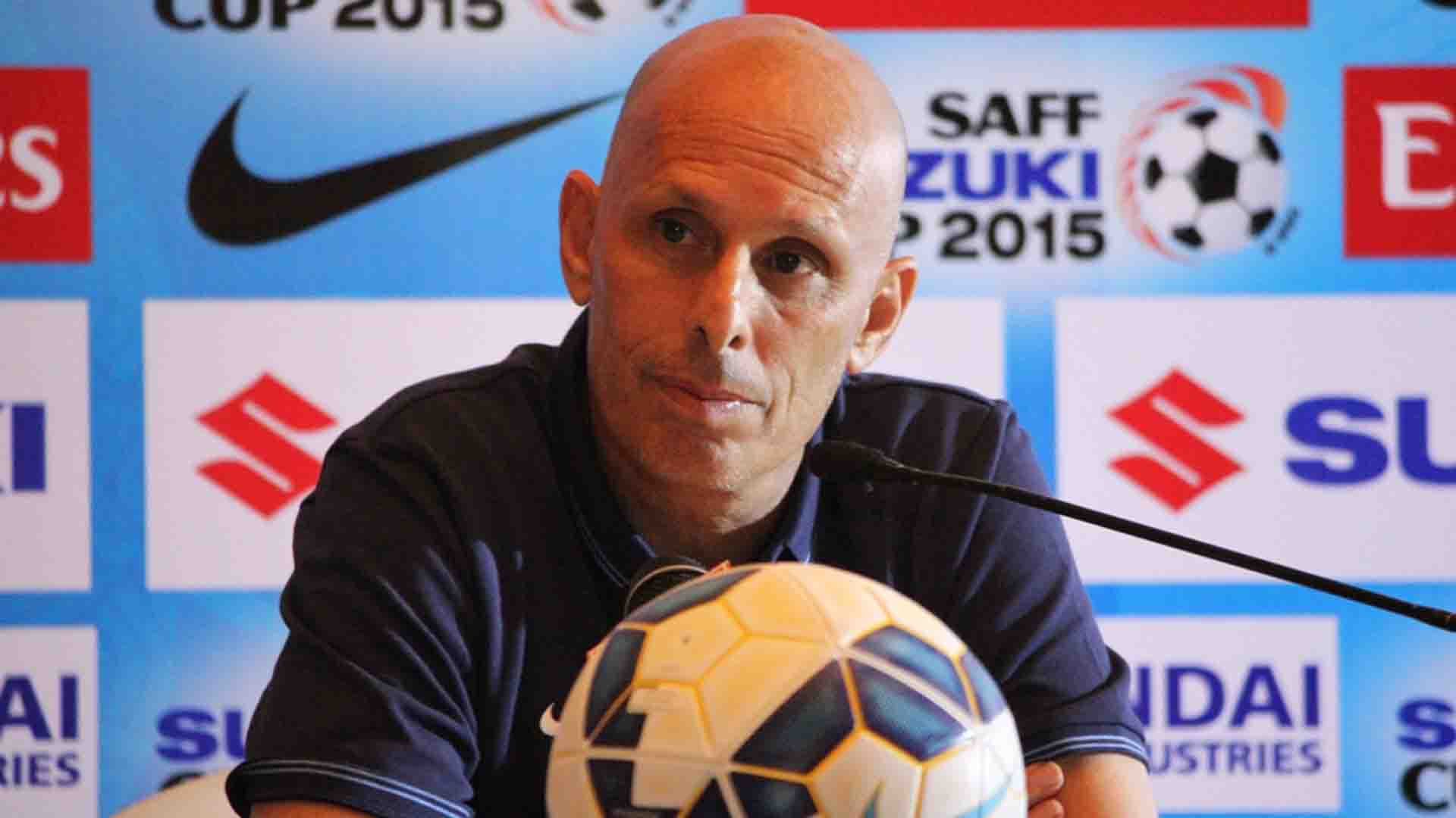 Stephen Constantine India SAFF Cup 2015