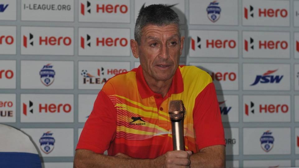 Trevor Morgan Bengaluru FC East Bengal I-League 2017