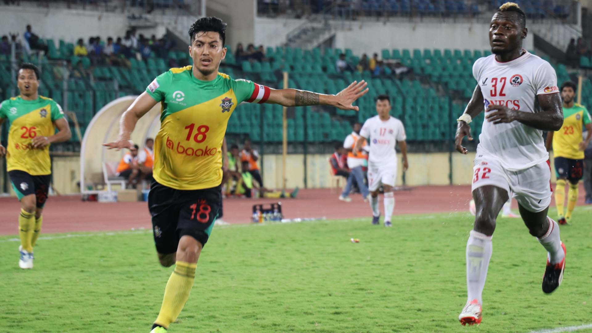 Haroon Fakhruddin Kamo Stephane Bayi Chennai City FC Aizawl FC I-League 2017