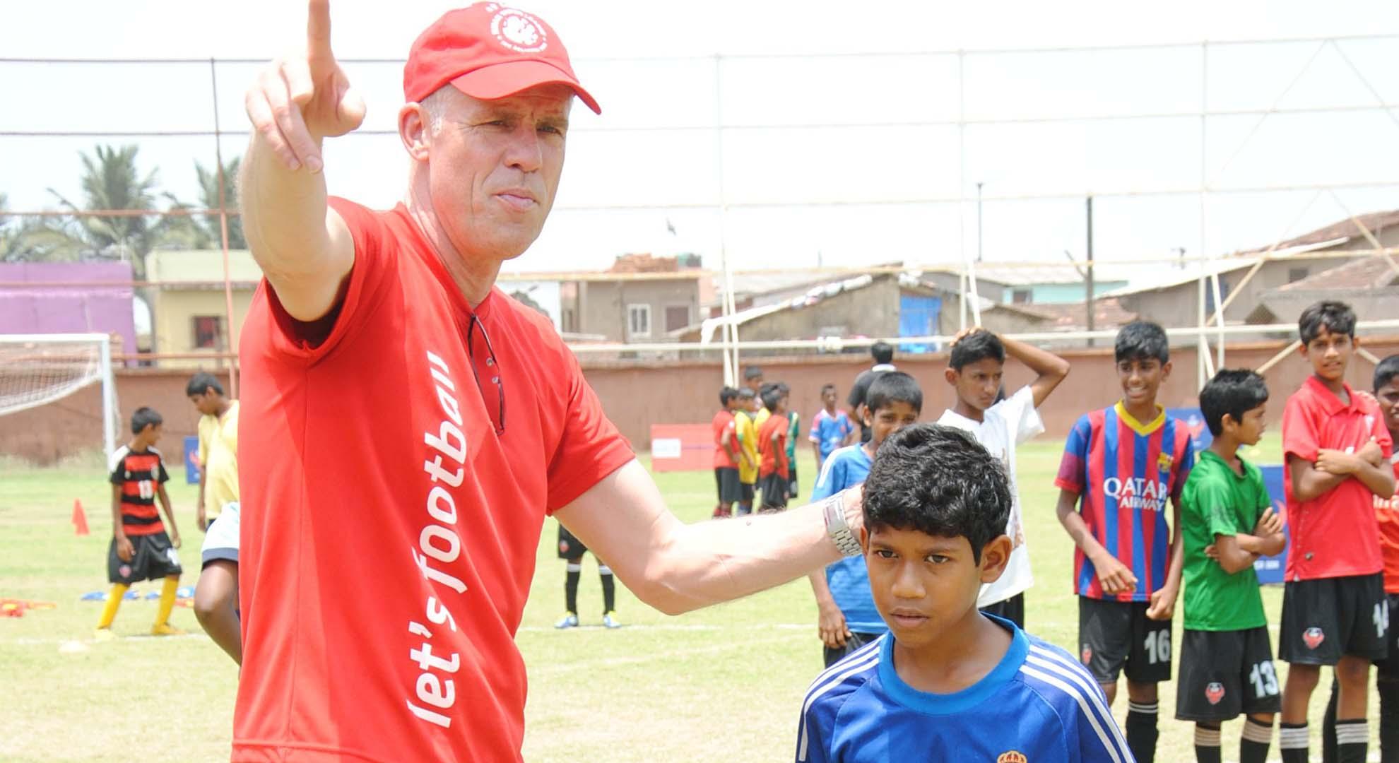 Piet Hubers FC Goa Grassroots Development Programme