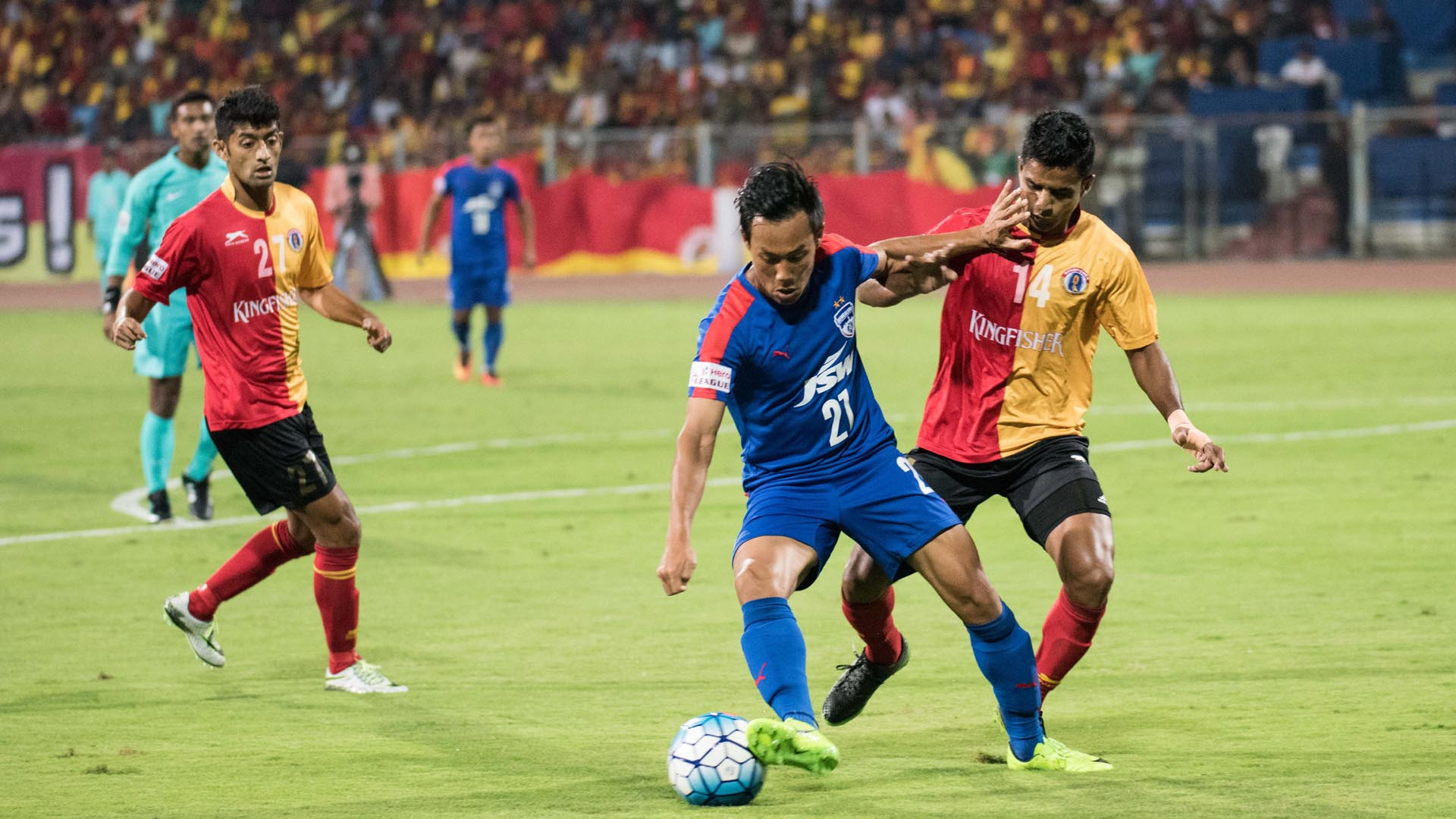 Udanta Singh Bengaluru FC East Bengal I-League 2017