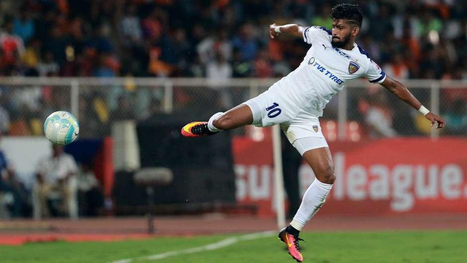 Jayesh Rane FC Pune City Chennaiyin FC ISL season 3 2016 ...
