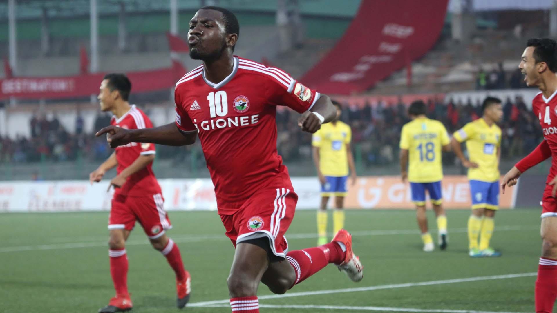 Dipanda Dicka Shillong Lajong FC Mumbai FC I-League 2017