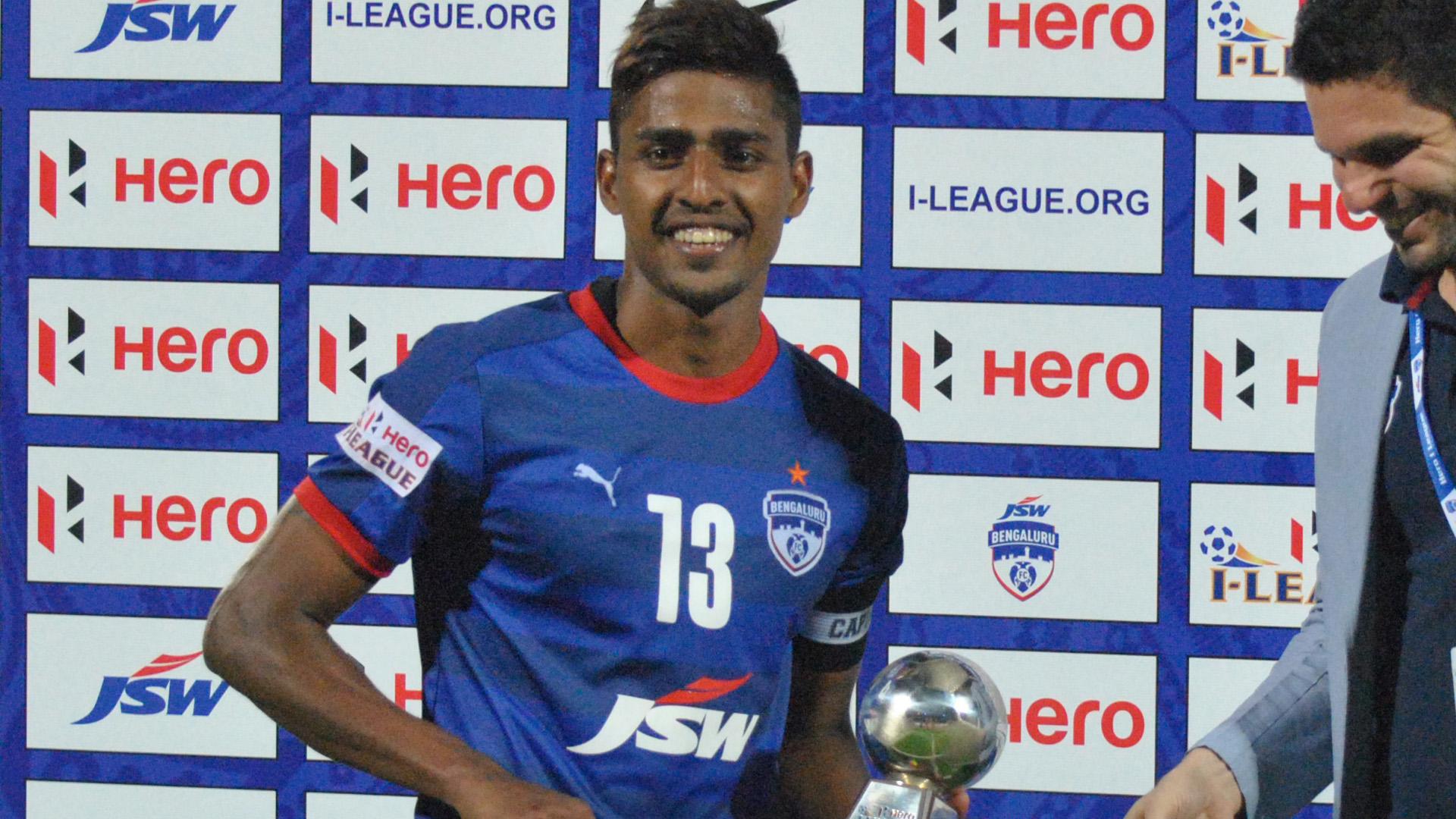 Rino Anto Bengaluru FC Aizawl FC I-League